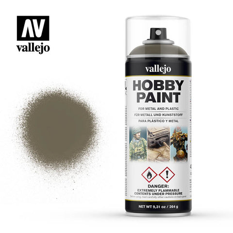 VALLEJO AEROSOL PAINT RUSSIAN UNIFORM HOBBY SPRAY PAINT 400ML AV28007