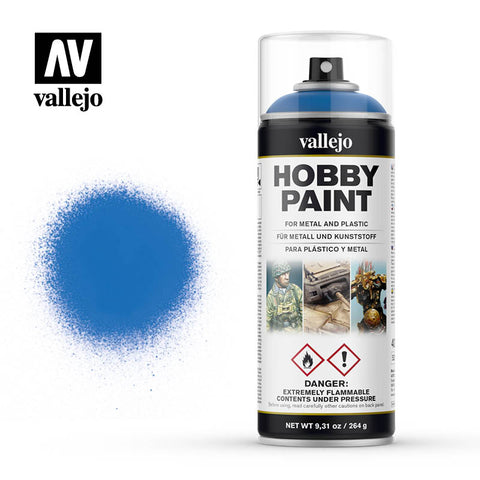 VALLEJO AEROSOL PAINT MAGIC BLUE HOBBY SPRAY PAINT 400ML AV28030