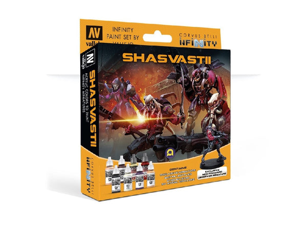 INFINITY MODEL COLOUR SET: SHASVASTII (WITH EXCLUSIVE MINIATURE) CB-70241