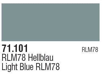 RLM78 BLUE 71.101VALLEJO MODEL AIR 71.101