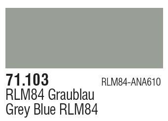 GREY RLM84 71.103 VALLEJO MODEL AIR 71.103