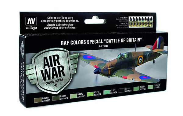 "VALLEJO MODEL AIR RAF COLOURS SPECIAL ""THE BATTLE OF BRITAIN""  AV71144"