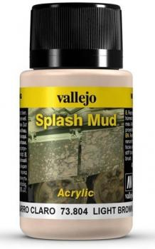 LIGHT BROWN SPLASH MUD WEATHERING EFFECTS VALLEJO 40ML AV73804