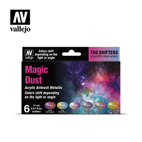 VALLEJO MAGIC DUST COLOUR SHIFT AIBRUSH COLOURS AV77090