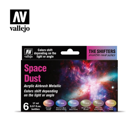 VALLEJO SPACE DUST COLOURSHIFT ACRYLIC PAINT SET AV77091