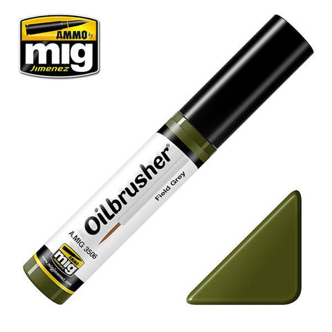 AMMO OF MIG OILBRUSHERS - FIELD GREEN     AMIG3506