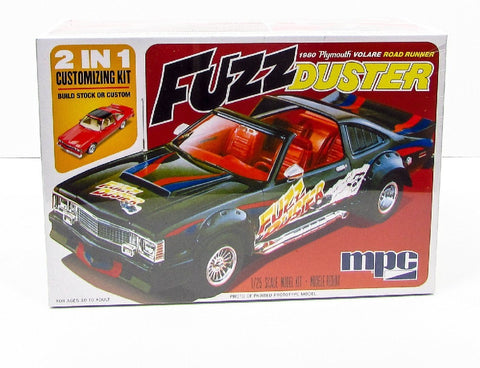 1/25 MPC FUZZ DUSTER 1980 PLYMOUTH VOLARE ROAD RUNNER MPC843