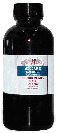 ALCLAD GLOSS BLACK BASE 4FL OZ