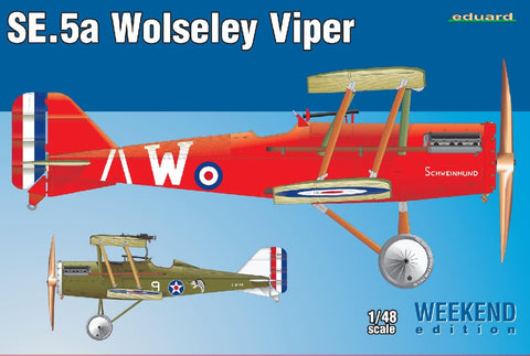 1/48 EDUARD SE.5A WOLSELEY VIPER WEEKEND EDITION ED8454