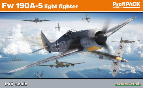 1/48 EDUARD FW-190A-5 LIGHT FIGHTER PROFIPACK ED82143