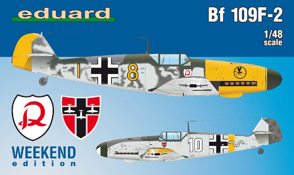 1/48 EDUARD BF 109F-2 WEEKEND EDITION ED84147