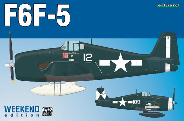 1/72 EDUARD F6F-5 HELLCAT WEEKEND EDITION ED7450