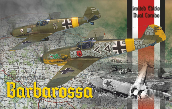1/48 EDUARD BARBAROSSA LIMITED ED KIT (109-E & 109 F-2) EDK11127
