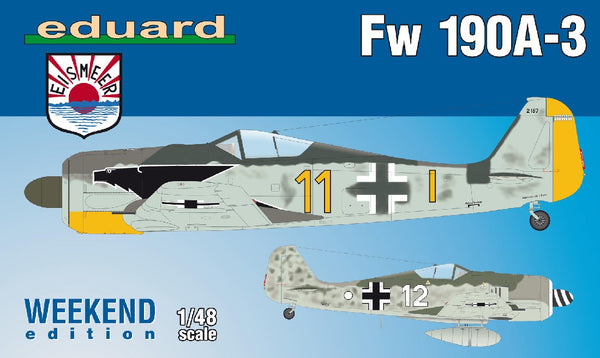 1/48 EDUARD FOCKE WULFE FW 190A-3 WEEKEND EDITION ED84112