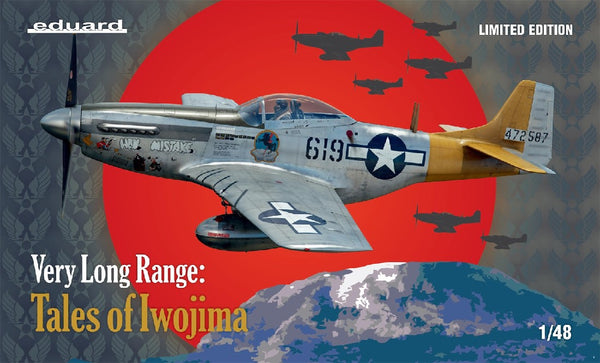 "1/48 EDUARD P-51 ""VERY LONG RANGE: TALES OF IWO JIMA"" ED11142"