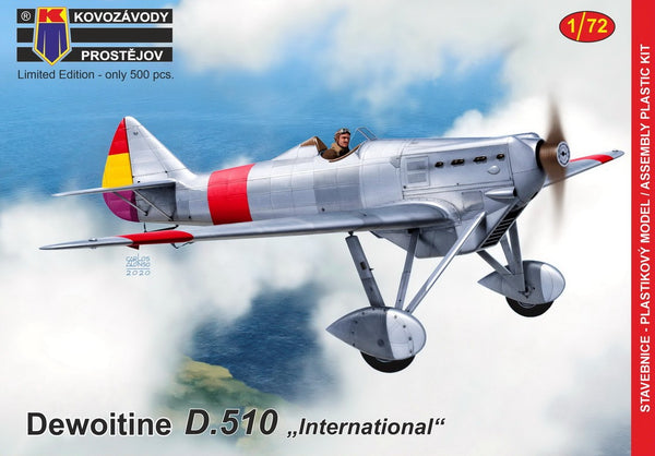 "1/72 KOPRO DEWOITINE D.510 ""INTERNATIONAL"" KPM0180"