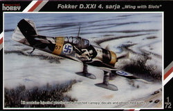 "1/72 SPECIAL HOBBY FOKKER D.XXI 4 SARJA ""WING WITH SLOTS"" SH72116"