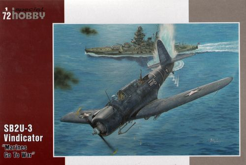 "1/72 SPECIAL HOBBY SB2U-3 VINDICATOR ""MARINES GO TO WAR"" SH72264"