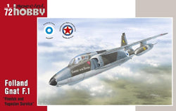 "1/72 FOLLAND GNAT MK1 ""FINNISH AND YUGOSLAV SERVICE"""