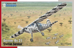 "1/72 SPECIAL HOBBY DORNIER DO27 ""CIVILLIAN SERVICE"" SH72349"
