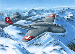 "1/72 SPECIAL HOBBY DH.1 VAMPIRE MK.1""THE FIRST JET GUARDIANS OF NEUTRALITY"""