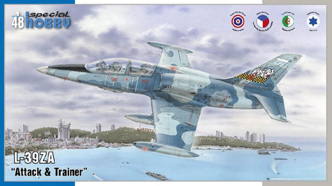 "1/48 SPECIAL HOBBY L-39ZA ""ATTACK AND TRAINER"" SH48167"