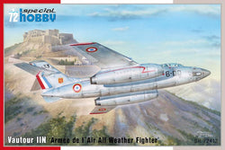 "1/72 SPECIAL HOBBY VANTOUR IIN ""ARMEE DE L AIR ALL WEATHER FIGHTER"" SH72412"