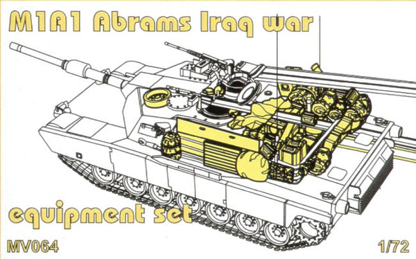 1/72 CMK ABRAMS EQUIPMENT SET MV064