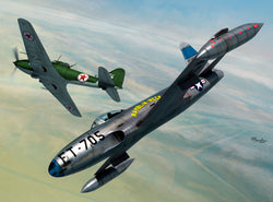 1/72 SWORD LOCKHEED P-80C & IL-10 OVER KOREA SW72128