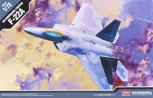 1/72 ACADEMY USAF F-22A AIR DOMINANCE FIGHTER ACA-12423