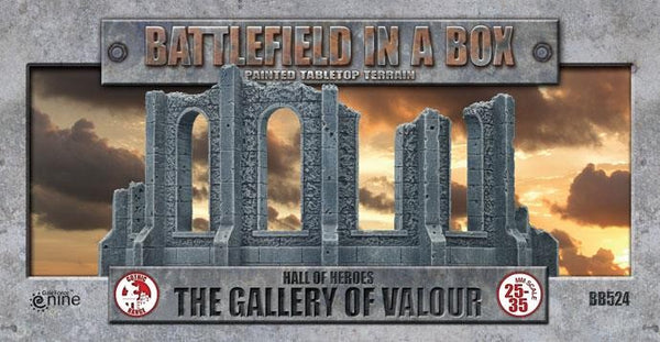 BATTLEFIELD IN A BOX: GOTHIC BATTLEFIELDS - GALLERY OF VALOUR BB524