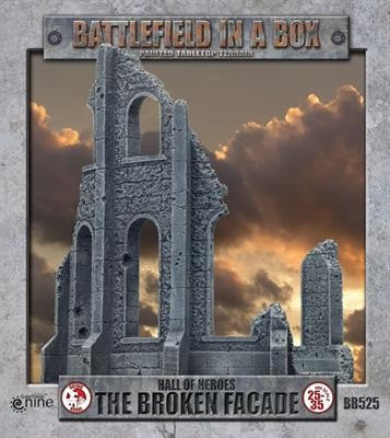 BATTLEFIELD IN A BOX: GOTHIC BATTLEFIELDS - THE BROKEN FACADE B525