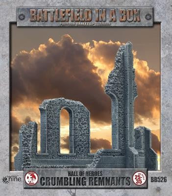 BATTLEFIELD IN A BOX: GOTHIC BATTLEFIELDS - CRUMBLING REMNANTS BB526