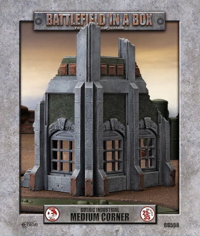 BATTLEFIELD IN A BOX: GOTHIC INDUSTRIAL - MEDIUM CORNER BB598