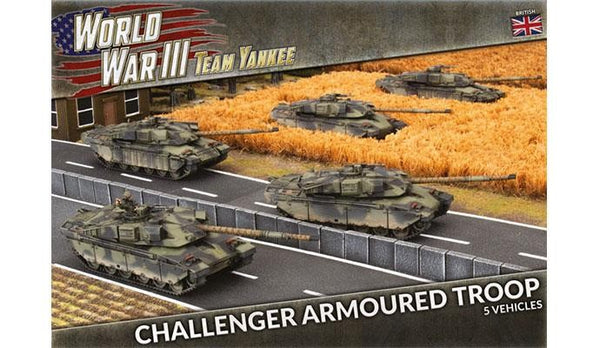 CHALLENGER ARMOURED TROOP (X5 PLASTIC) BBX11