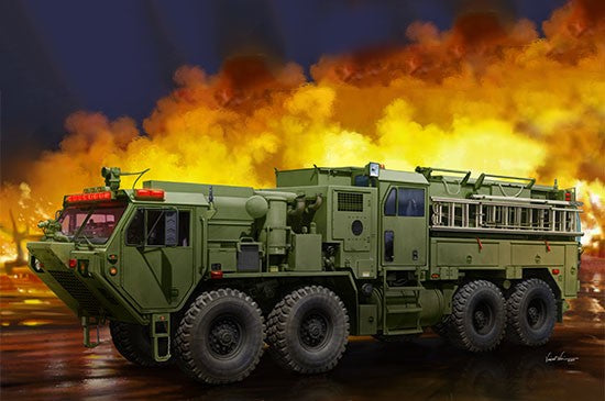 1/35 TRUMPETER M1142 TACTICAL FIRE FIGHTING TRUCK (TFFT) TR01067