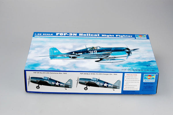 1/32 TRUMPETER F6F-3N HELLCAT NIGHTFIGHTER TR02258