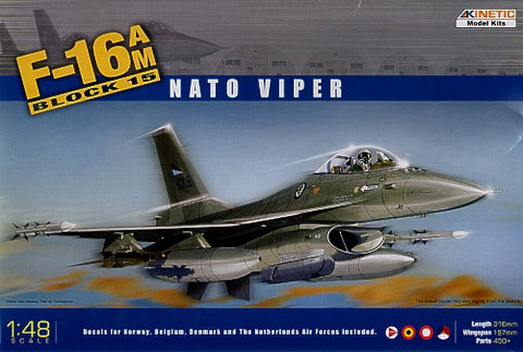 1/48 KINETIC F-16AM BLOCK 15 NATO VIPER
