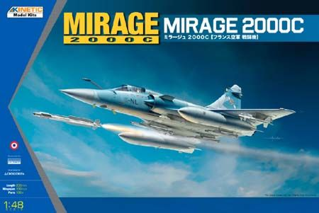 1/48 MIRAGE 2000C MULTIROLE FIGHTER K48042