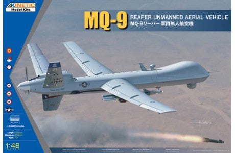 1/48 KINETIC MQ-9 REAPER UNMANNED AERIAL VEHICLE K48067