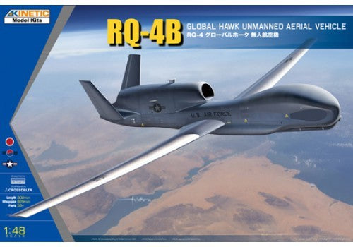 1/48 KINETIC RQ-48 GLOBAL HAWK UNMANNED AERIAL VEHICLE K48084