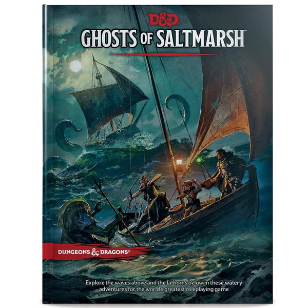 D&D GHOSTS OF SALTMARSH WOTCC62970000