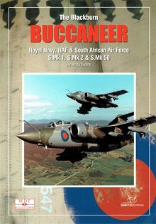 THE BLACKBURN BUCCANEER BY ANDY EVANS MDF SCALED DOWN NO:6  SAM PUBLICATIONS