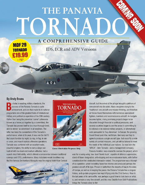 THE PANAVIA TORNADO. A COMPREHENSIVE GUIDE. (MDF29)