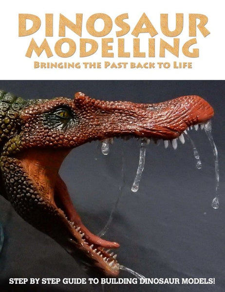 DINOSAUR MODELLING: BRINGING THE PAST BACK TO LIFE BOOK BK01