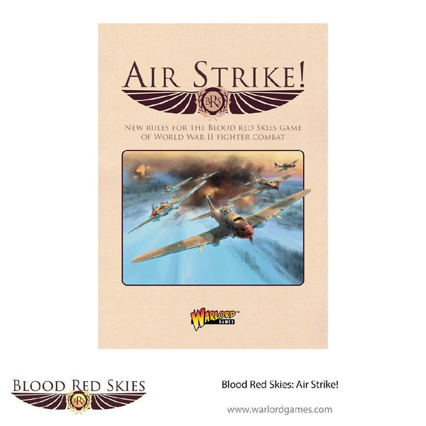 BLOOD RED SKIES: AIR STRIKE ! RULE BOOK