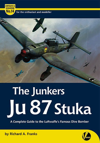 AIRFRAME & MINIATURE NO.14 THE JUNKERS JU87 STUKA VWP912932