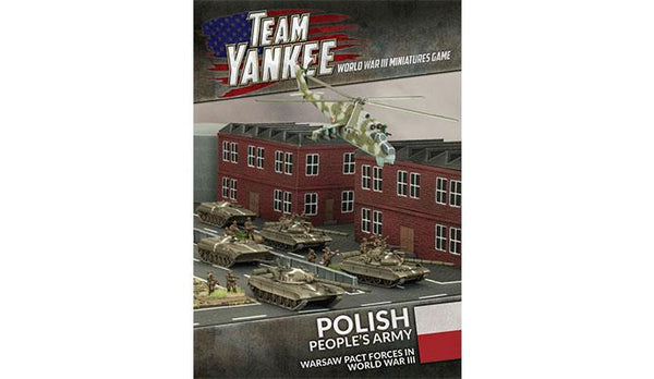 TEAM YANKEE: POLISH PEOPLES ARMY (24P BOOKLET , 37 CARDS) BFFW919