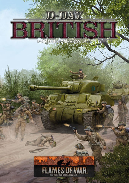 D-DAY BRITSH FORCES NORMANDY 1944 (80P HB) FW264