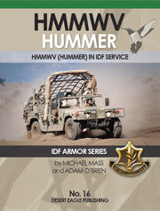 HMMWV HUMMER IN IDF SERVICE BY DESERT EAGLE PUBLISHING NO:16